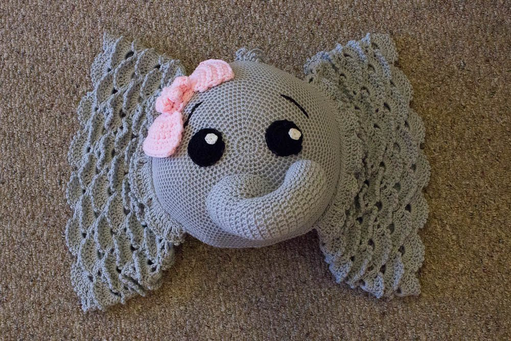 Crochet Elephant Pillow Elegant Elephant Pillow Crochet Elephant Pillow Decorative Pillow Of Brilliant 43 Images Crochet Elephant Pillow