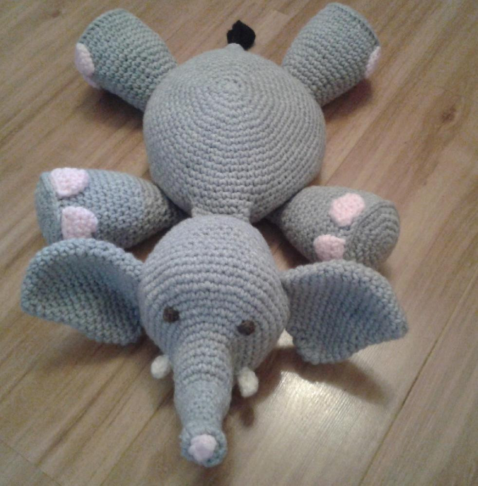 Crochet Elephant Pillow Inspirational Elephant Amigurumi Pillow toy Of Brilliant 43 Images Crochet Elephant Pillow