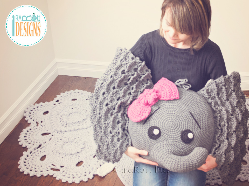 Crochet Elephant Pillow Inspirational Josefina and Jeffery Elephant Crochet Patterns Of Brilliant 43 Images Crochet Elephant Pillow