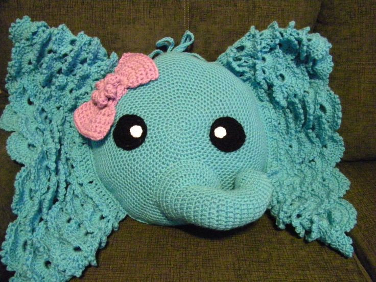 Crochet Elephant Pillow Lovely 17 Best Images About Crochet Projects I Have Made On Of Brilliant 43 Images Crochet Elephant Pillow
