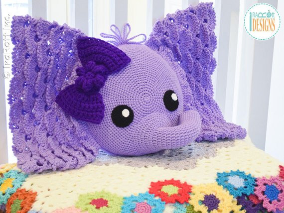 Crochet Elephant Pillow New Crochet Pattern Josefina and Jeffery Elephant Pillow Pdf Of Brilliant 43 Images Crochet Elephant Pillow