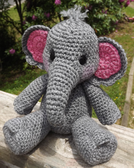 Crochet Elephant Unique Baby Elephant Amigurumi Crochet Pattern Pdf Doll Not Of Amazing 49 Models Crochet Elephant