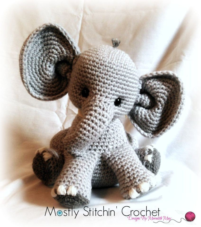 Crochet Elephant Unique Percy the Baby Elephant Crochet Pattern Pdf Of Amazing 49 Models Crochet Elephant