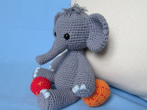 Crochet Elephant Unique Playful Elephant Bert Amigurumi Crochet Pattern Of Amazing 49 Models Crochet Elephant