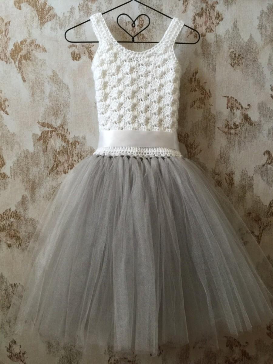 Crochet Flower Girl Dress Beautiful Flower Girl Dress Crochet Tutu Dress toddler Dress Baby Of Contemporary 42 Pics Crochet Flower Girl Dress