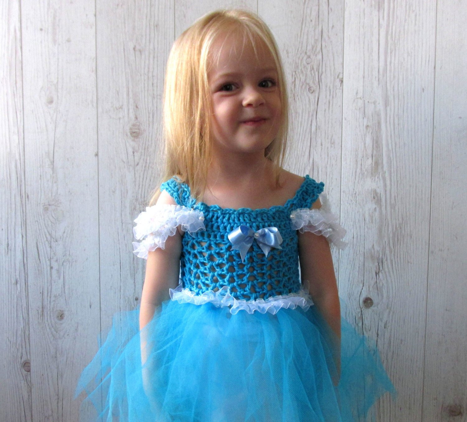 Crochet Flower Girl Dress Inspirational Cinderella Girls Crochet Tutu Dress Flower Girl Dress Of Contemporary 42 Pics Crochet Flower Girl Dress