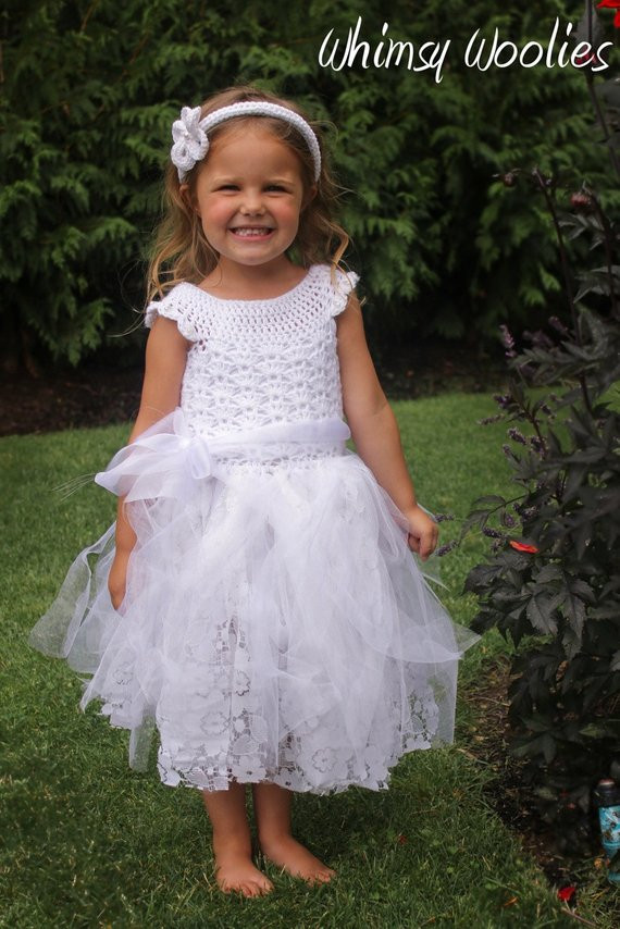 Crochet Flower Girl Dress Inspirational Crochet Dress Pattern Crochet Tutu 3 Pack Flower Girl Of Contemporary 42 Pics Crochet Flower Girl Dress