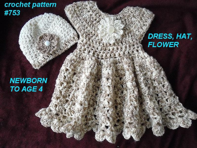 Crochet Flower Girl Dress Unique Crochet Pattern for Baby Dress Girl S Dress Hat Flower Of Contemporary 42 Pics Crochet Flower Girl Dress