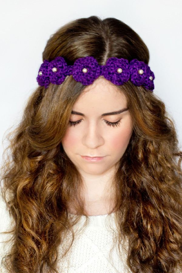 Crochet Flower Headband Beautiful 40 Crochet Flower Patterns and What to Do with them Of Top 44 Pictures Crochet Flower Headband