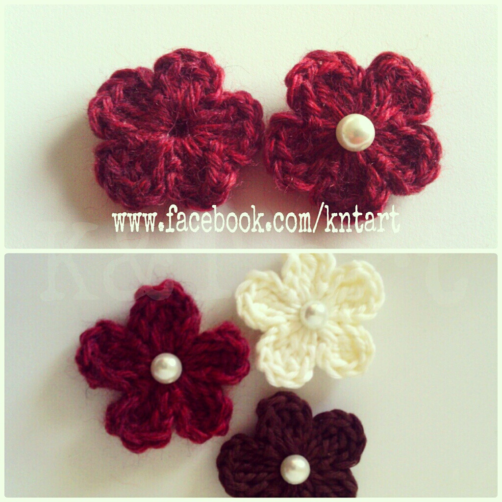 """""""The difference is in the details"""" Big and Small crochet"""