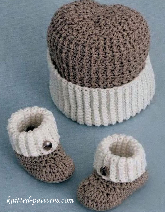 Crochet for Baby Boy Free Patterns Luxury Baby Boy Booties and Hat Crochet Pattern Free Of Beautiful 40 Ideas Crochet for Baby Boy Free Patterns