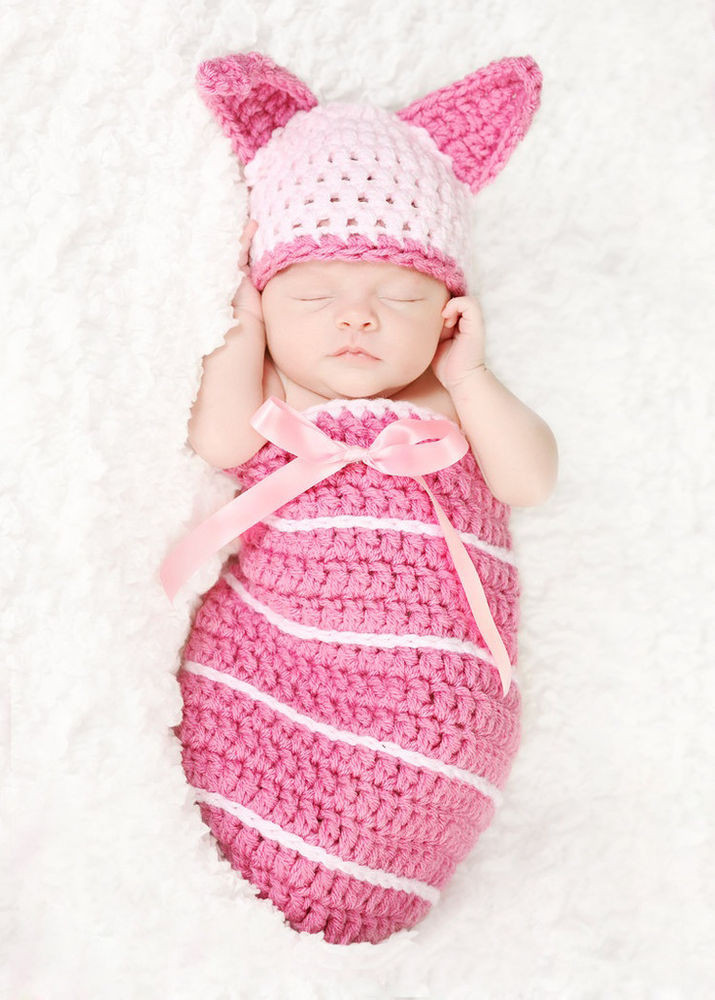 Crochet for Baby Girl Awesome Newborn Baby Girls Knit Crochet Pink Rabbit Graphy Of Top 41 Pics Crochet for Baby Girl