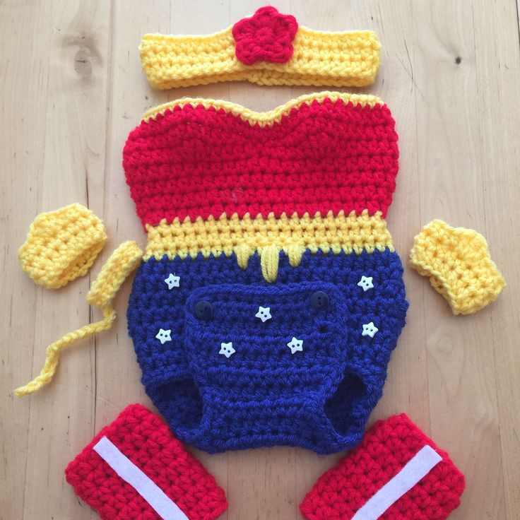 Crochet for Baby Girl Luxury Wonder Woman Crocheted Onesie Handmade by Me Inspired by Of Top 41 Pics Crochet for Baby Girl