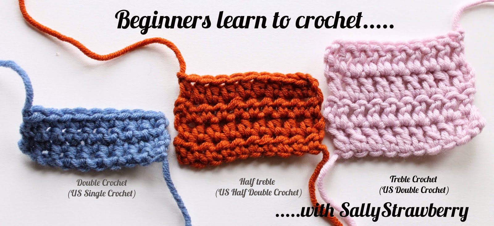 Crochet for Beginners Awesome Sallystrawberry Beginners Learn to Crochet the Treble Of Perfect 48 Ideas Crochet for Beginners