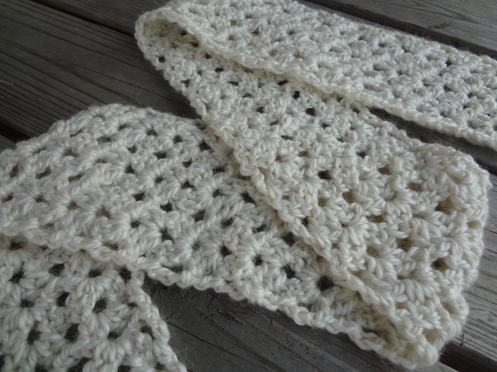 free easy crochet scarf patterns for beginners