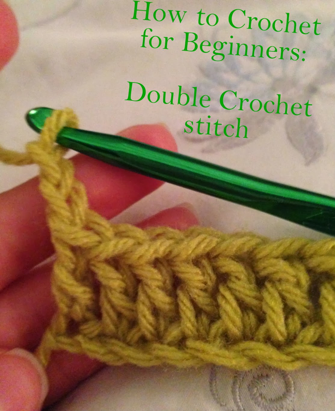Crochet for Beginners Fresh Crocheting for Beginners Part 2 How to Double Crochet Of Perfect 48 Ideas Crochet for Beginners