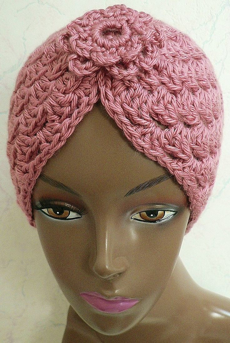 Crochet for Cancer Elegant Crochet Turban Pattern with or without the Flower Of Contemporary 40 Pictures Crochet for Cancer