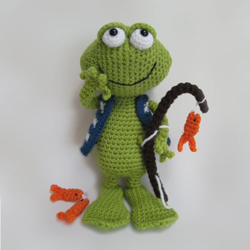 Crochet Frogs Beautiful Frog Jimmy Amigurumi Pattern Amigurumipatterns Of Superb 49 Pictures Crochet Frogs