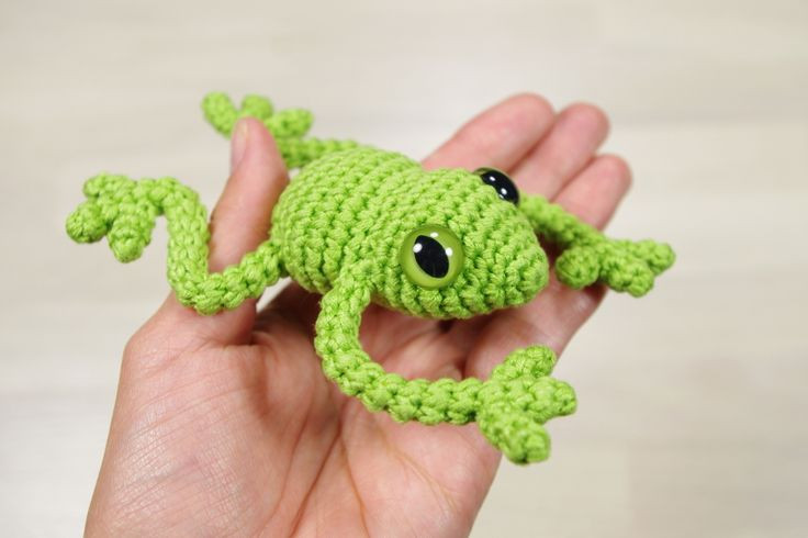 17 Best ideas about Crochet Frog on Pinterest