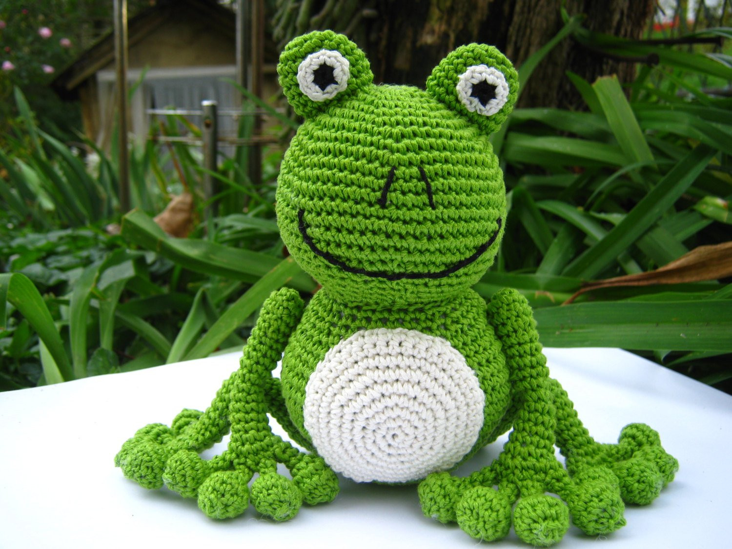 Crochet Frogs Fresh Amigurumi Green Chrochet Frog Pattern Of Superb 49 Pictures Crochet Frogs