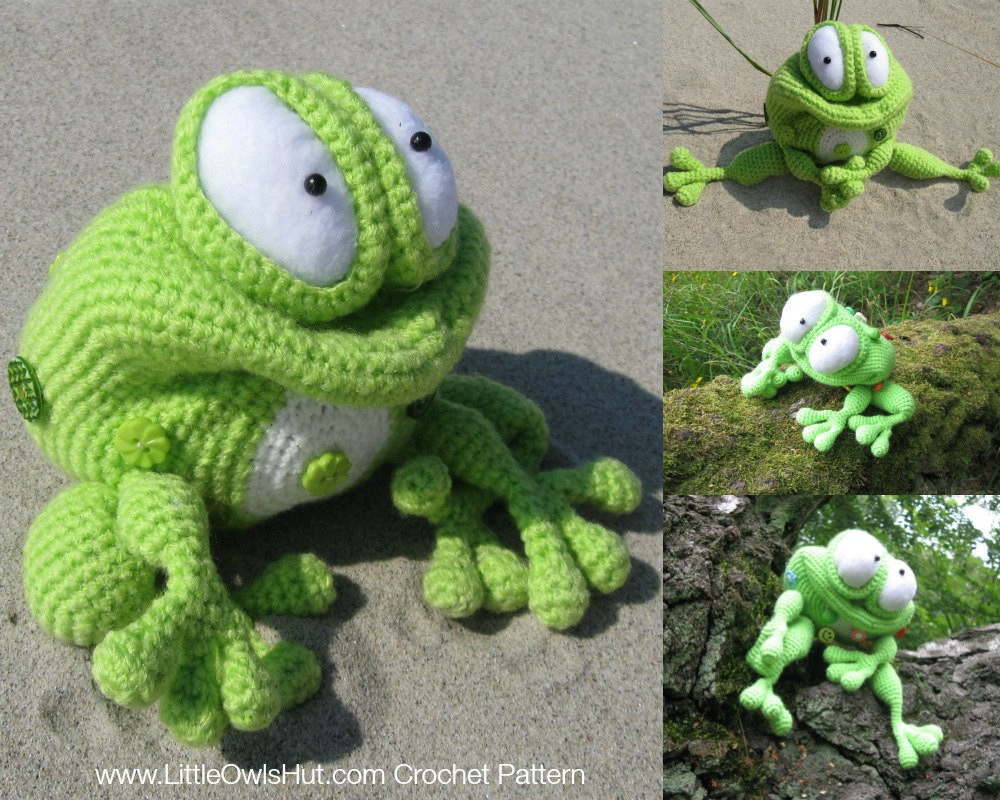 Crochet Frogs Inspirational 013 Frog Kvolya toy with Wire Frame Amigurumi Crochet Of Superb 49 Pictures Crochet Frogs