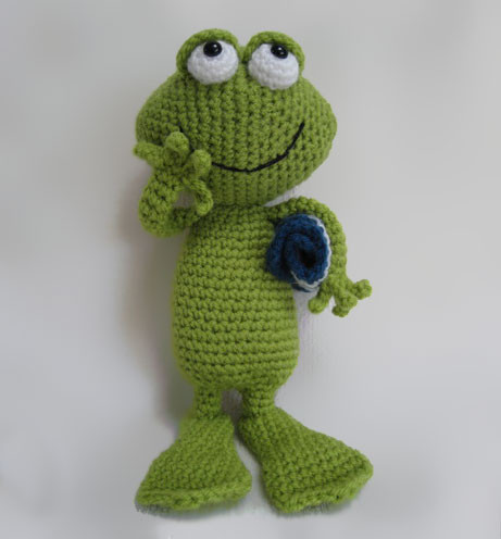 Crochet Frogs Lovely Frog Jimmy Amigurumi Pattern Amigurumipatterns Of Superb 49 Pictures Crochet Frogs