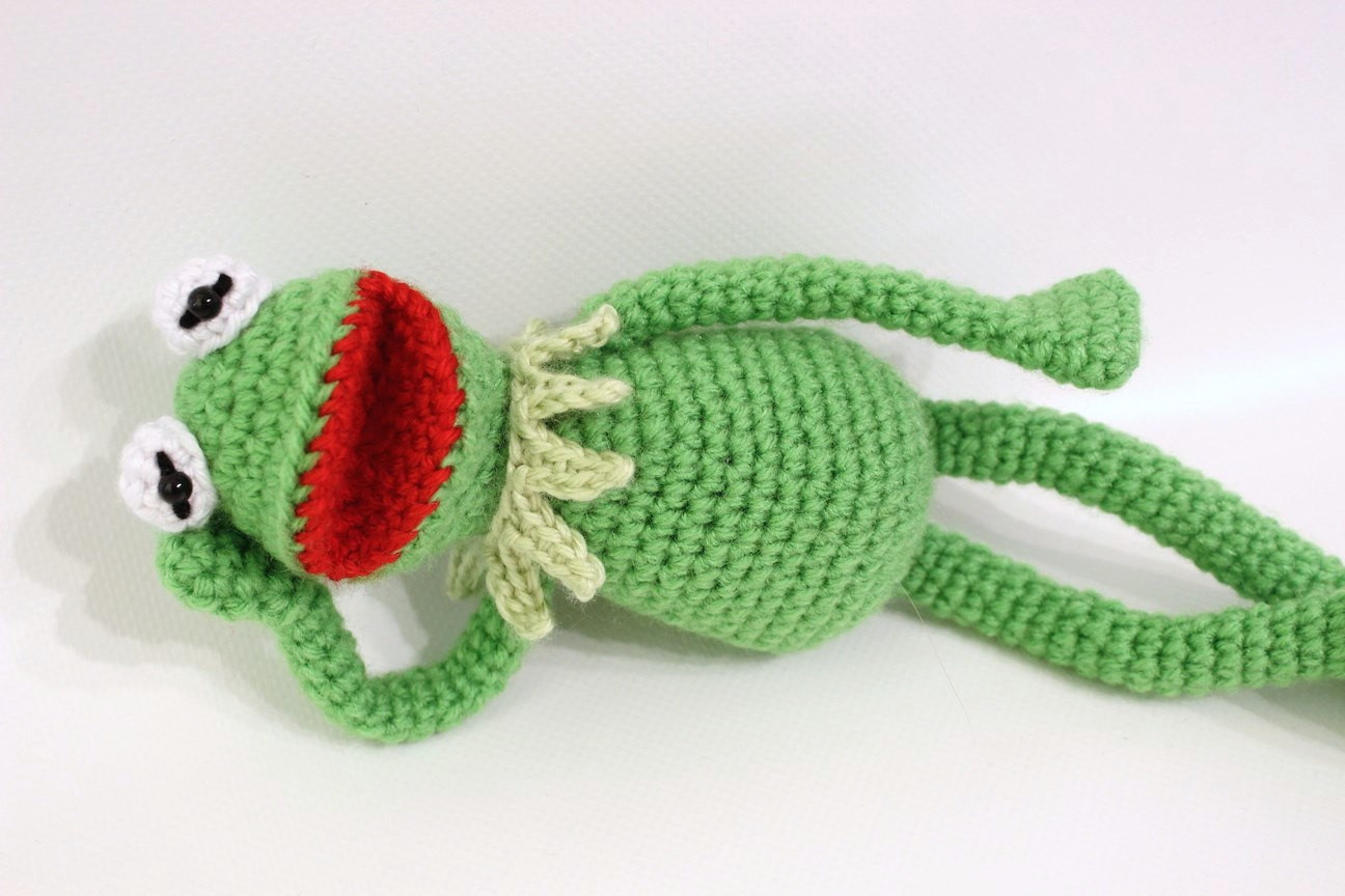 kermit the frog crochet pattern in ments