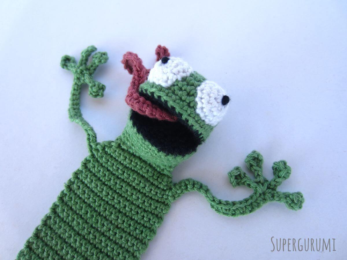 "Crochet Frogs Luxury Amigurumi Crochet Frog Bookmark ""book Frog"" Supergurumi Of Superb 49 Pictures Crochet Frogs"