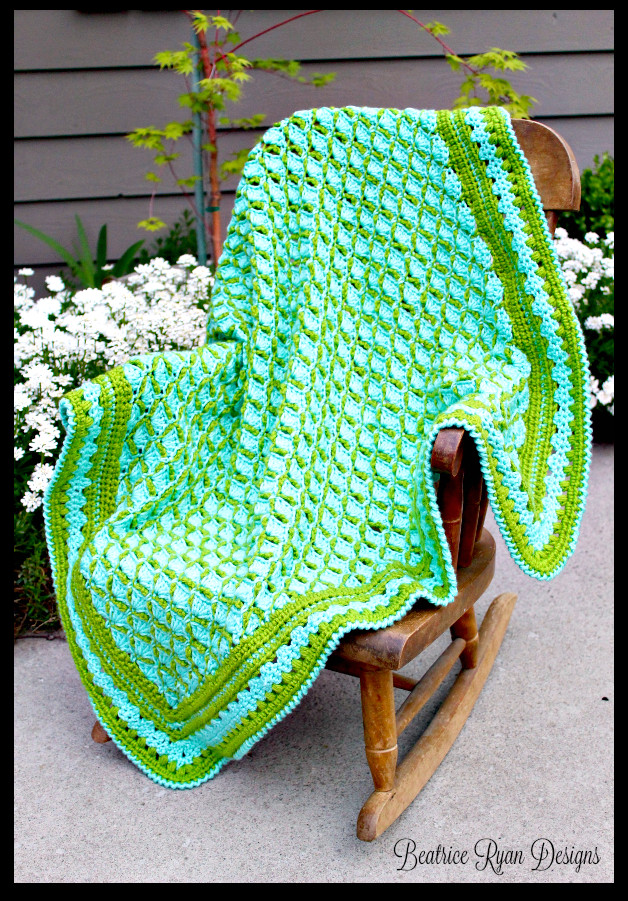 Crochet Frogs Luxury Frog Pond Baby Blanket… Free Crochet Pattern Of Superb 49 Pictures Crochet Frogs
