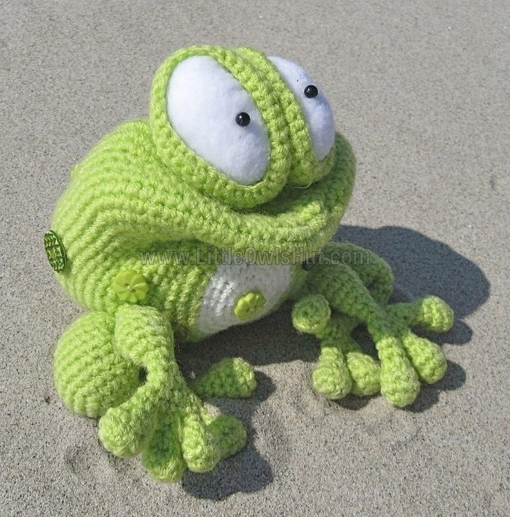 1000 images about crochet frogs on Pinterest