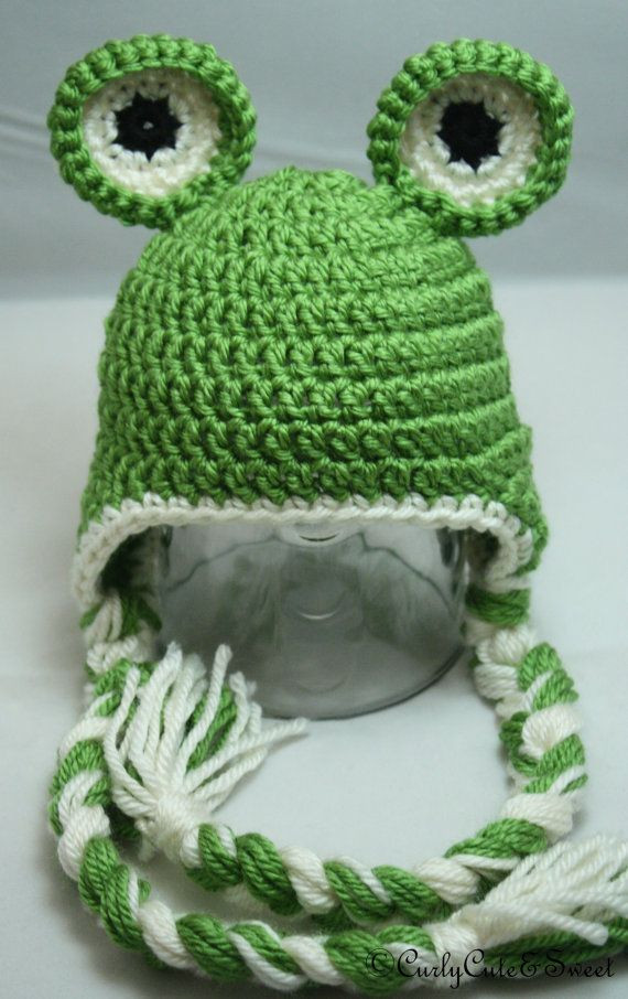 Crochet Frogs New Frog Crochet Earflap Hat This Has Good Balance and Of Superb 49 Pictures Crochet Frogs