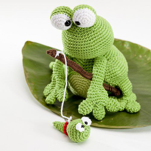 Crochet Frogs New Kobe and Kenji Frog Amigurumi Pattern by Woolytoons Of Superb 49 Pictures Crochet Frogs