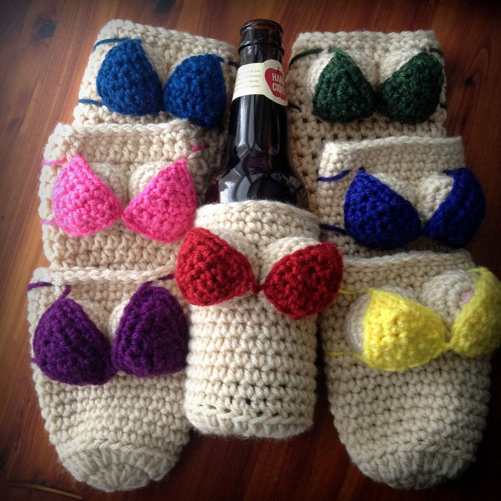 Crochet Gifts for Men Beautiful Booby Cozies Free Pattern Crochet Knitting Of Great 49 Pictures Crochet Gifts for Men