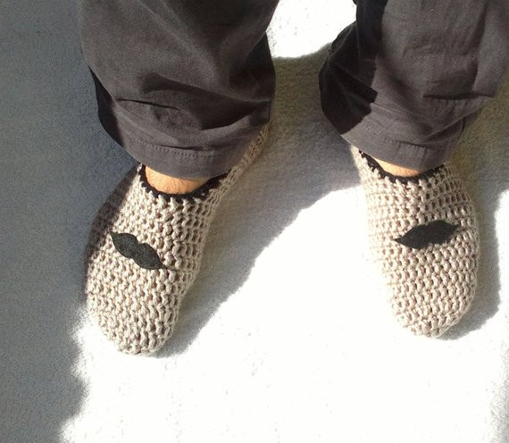 Crochet Gifts for Men Best Of Gifts for Him Men Slippers Crochet Mens Slippers House Of Great 49 Pictures Crochet Gifts for Men