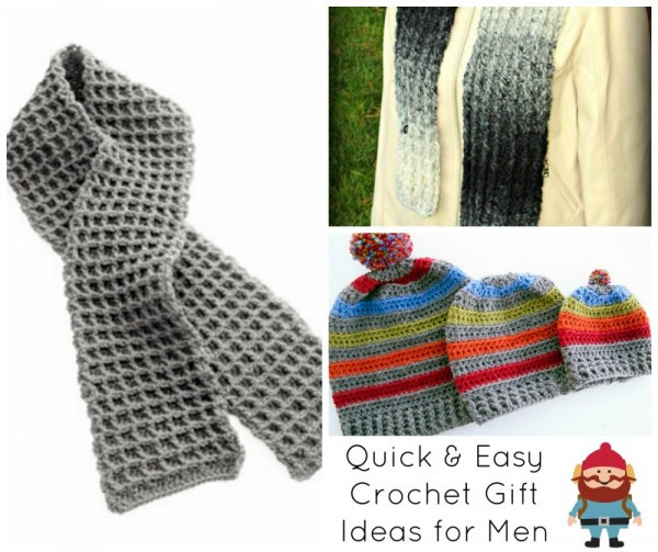 Crochet Gifts for Men Elegant Tamara Kelly S 15 Quick & Easy Gift Ideas for the Of Great 49 Pictures Crochet Gifts for Men