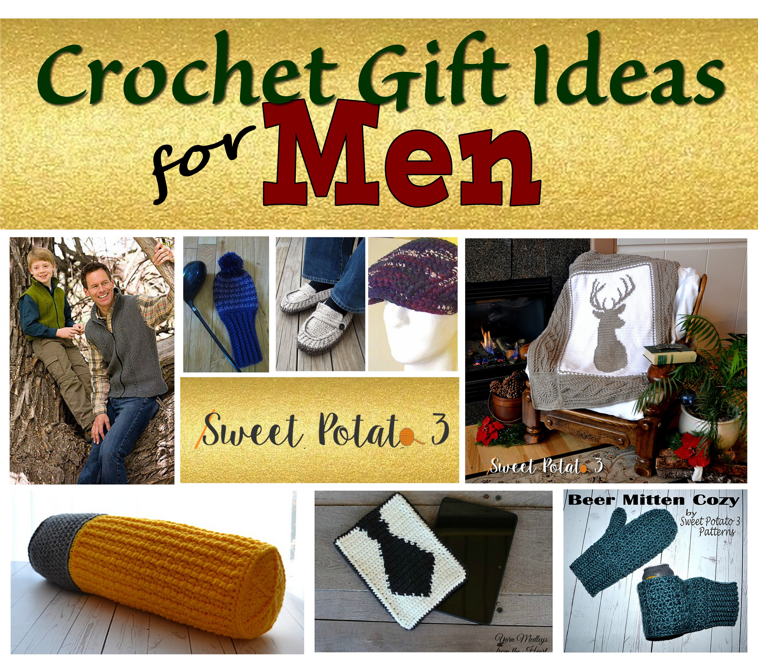 Crochet Gifts for Men Inspirational Crochet Gift Ideas for Men for the Holidays Sweet Potato 3 Of Great 49 Pictures Crochet Gifts for Men