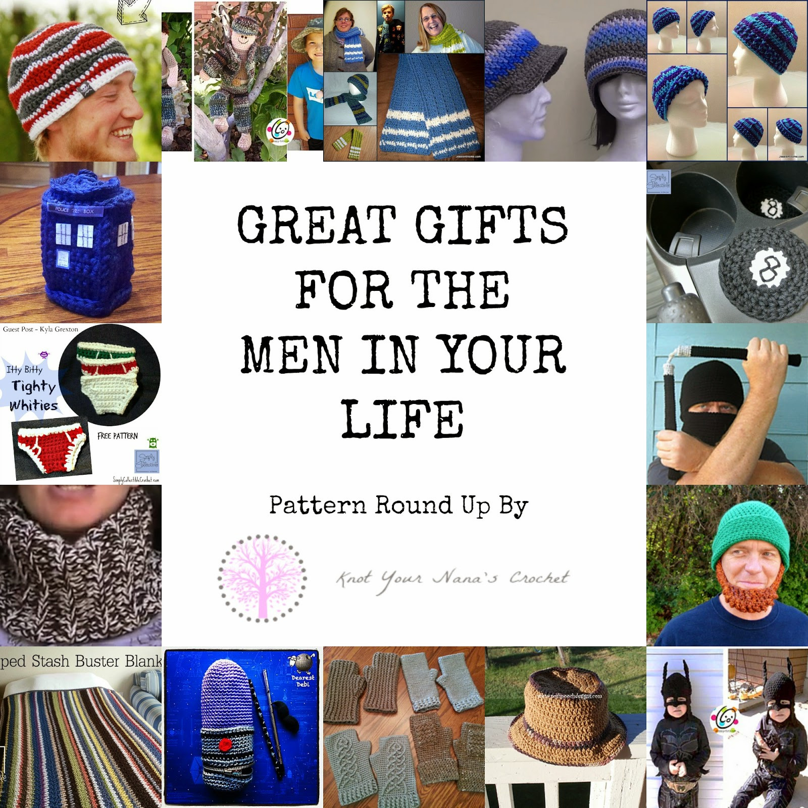 Crochet Gifts for Men Lovely 24 Amazing Crochet Patterns for Men and Boys Of Great 49 Pictures Crochet Gifts for Men