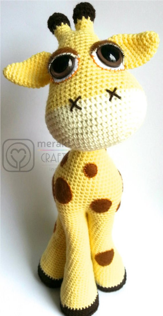 Crochet Giraffe Pattern Beautiful Flick the Giraffe Amigurumi Of Marvelous 41 Ideas Crochet Giraffe Pattern