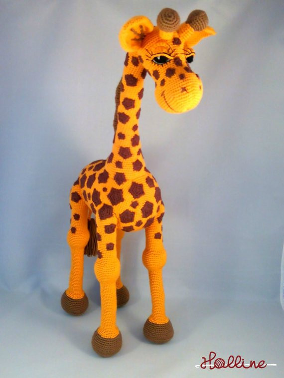 Crochet Giraffe Pattern Beautiful Pdf Pattern Giraffe April Crochet Amigurumi Giraffe English Of Marvelous 41 Ideas Crochet Giraffe Pattern
