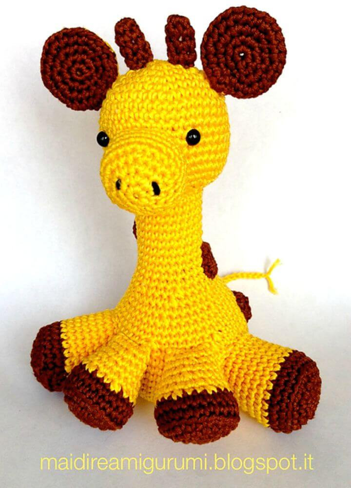 Crochet Giraffe Pattern Fresh 32 Free Crochet Giraffe Amigurumi Patterns Diy & Crafts Of Marvelous 41 Ideas Crochet Giraffe Pattern