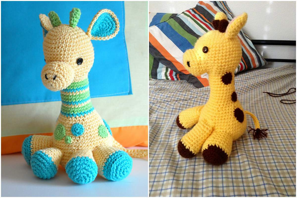 Crochet Giraffe Pattern Fresh Babie Giraffes – Amigurumi Collection [free Crochet Of Marvelous 41 Ideas Crochet Giraffe Pattern