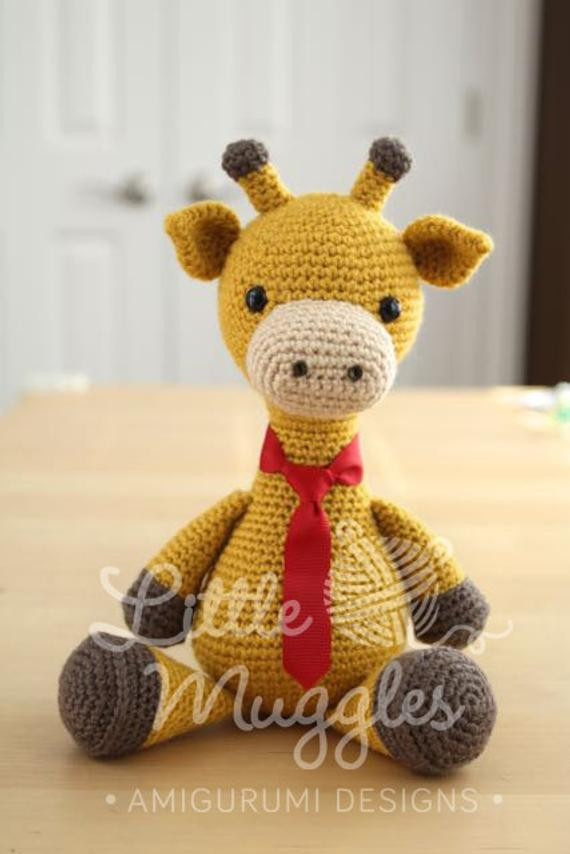 Crochet Giraffe Pattern Luxury Amigurumi Crochet Pattern Stanley the Giraffe Of Marvelous 41 Ideas Crochet Giraffe Pattern