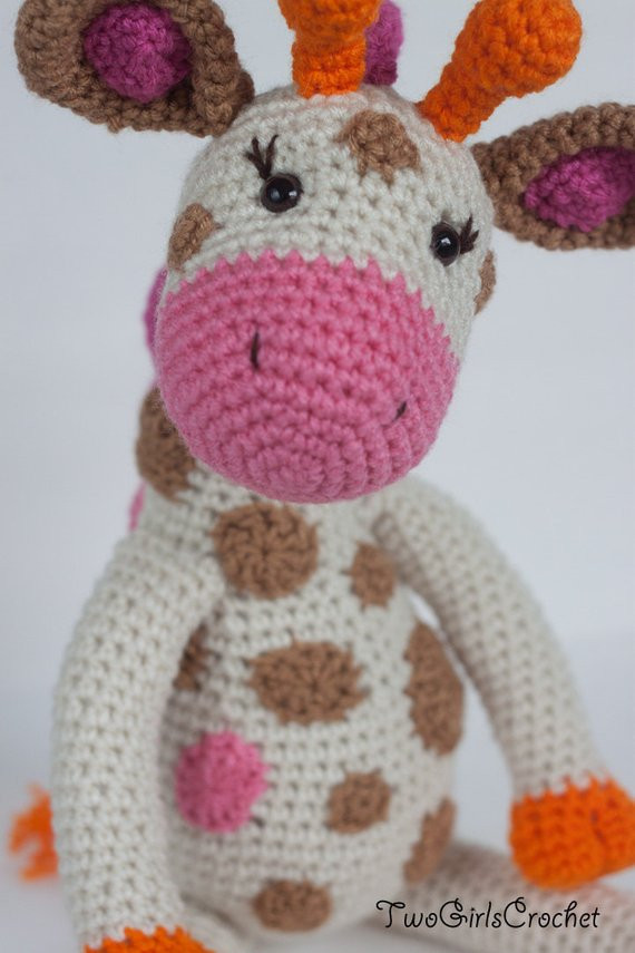 Crochet Giraffe Pattern New Crochet Giraffe Amigurumi toy Jillian Made to order Of Marvelous 41 Ideas Crochet Giraffe Pattern