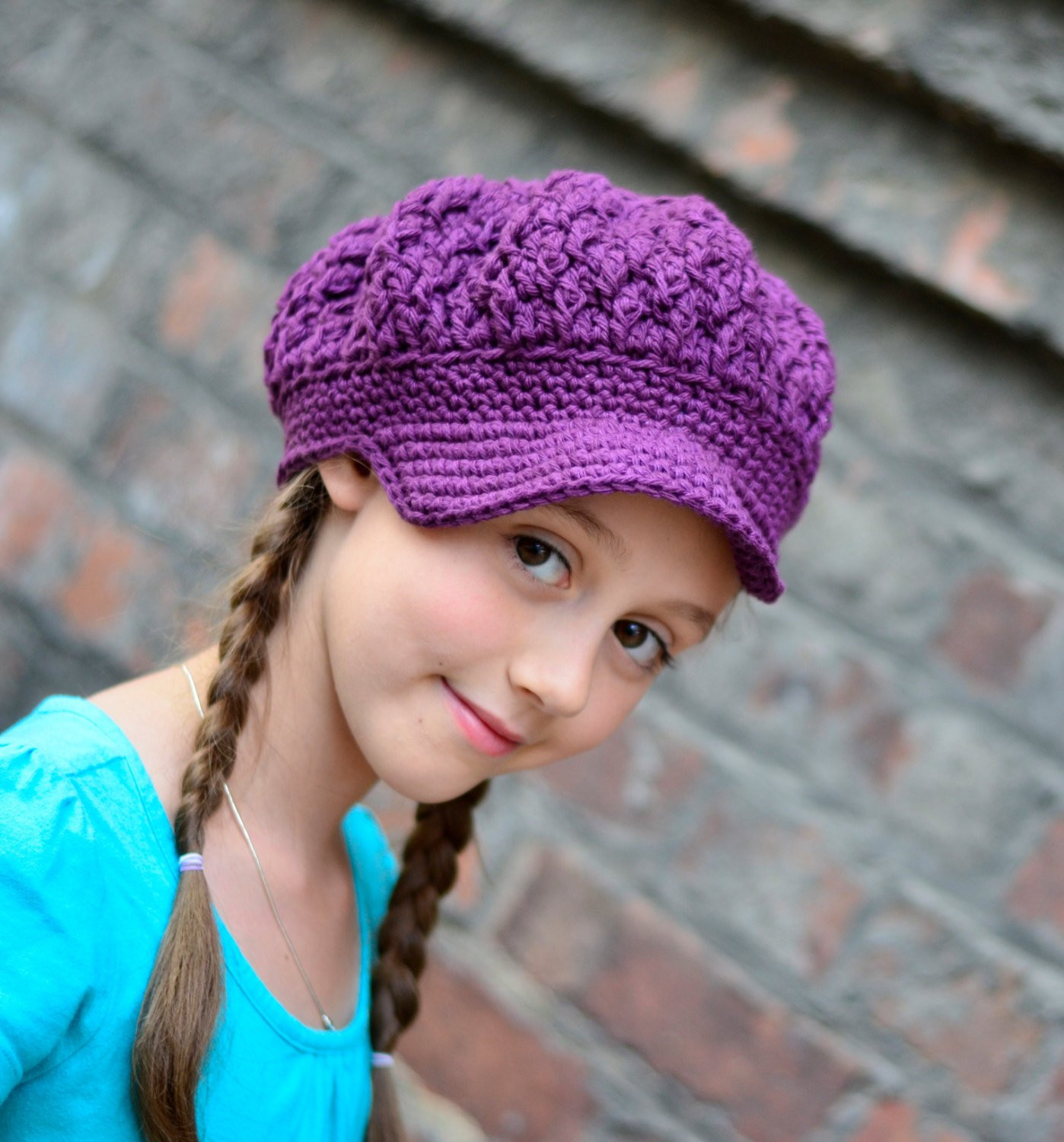 Crochet Girl Hat Elegant Girls Crochet Hat Crochet Newsboy Hat Newsboy Hat for Of Superb 47 Pics Crochet Girl Hat