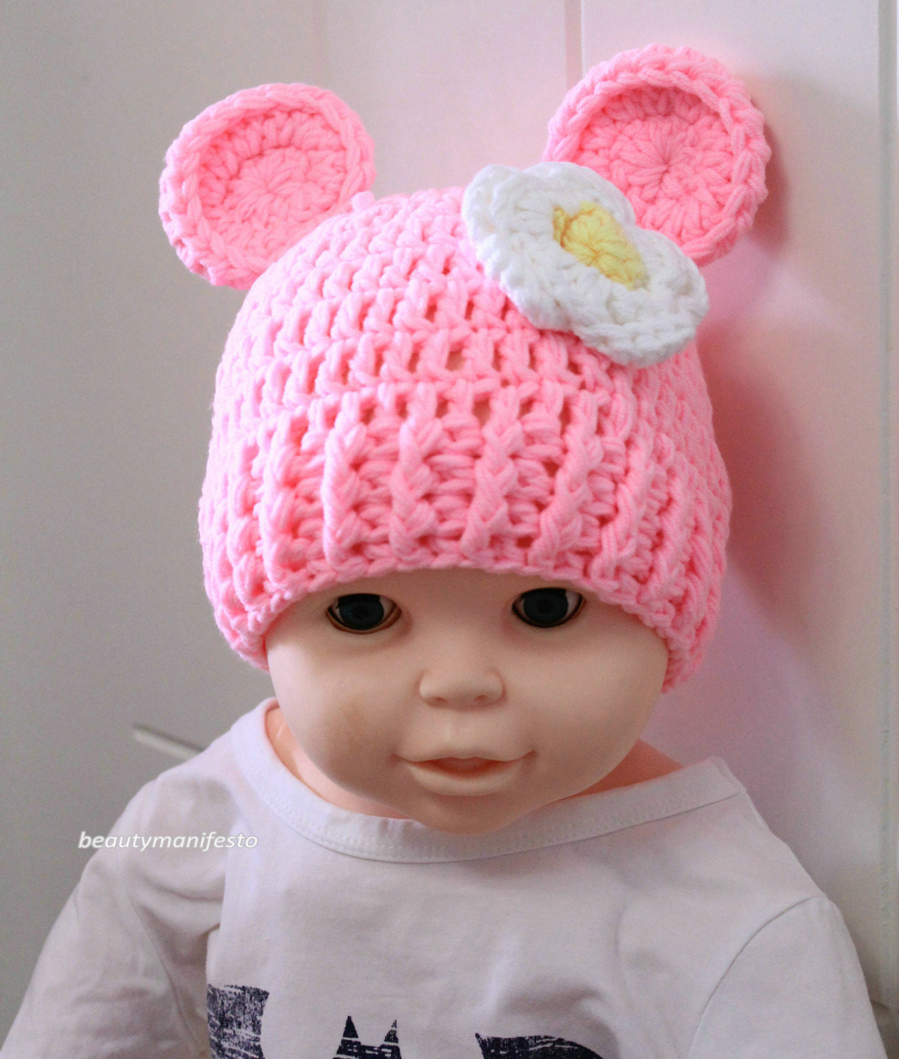 Crochet Girl Hat Elegant Newborn Baby Girl Crochet Hats Of Superb 47 Pics Crochet Girl Hat