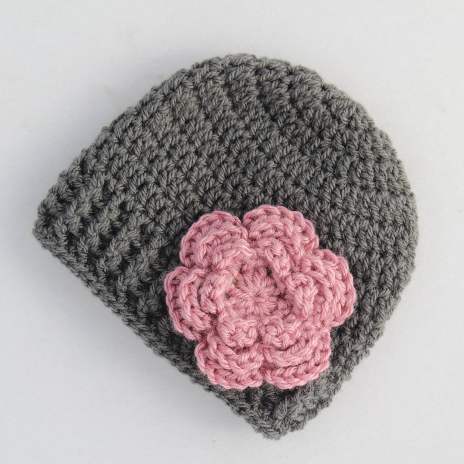 Crochet Girl Hat Fresh Baby Hat Crochet Baby Hat Baby Girl Hat Grey and Pink Girl Of Superb 47 Pics Crochet Girl Hat