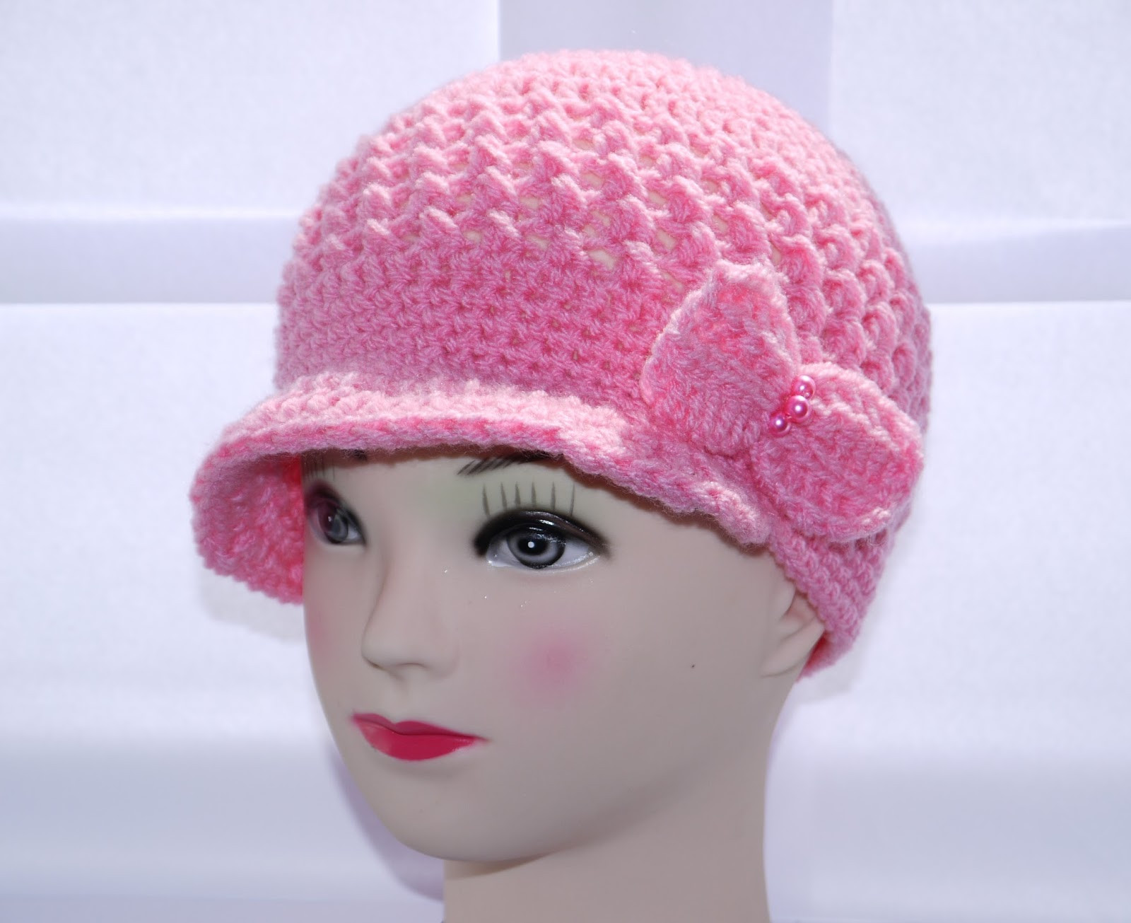 Crochet Girl Hat New Plooshy Handmade Crochet Newsboy Pageboy Girl Hat Of Superb 47 Pics Crochet Girl Hat