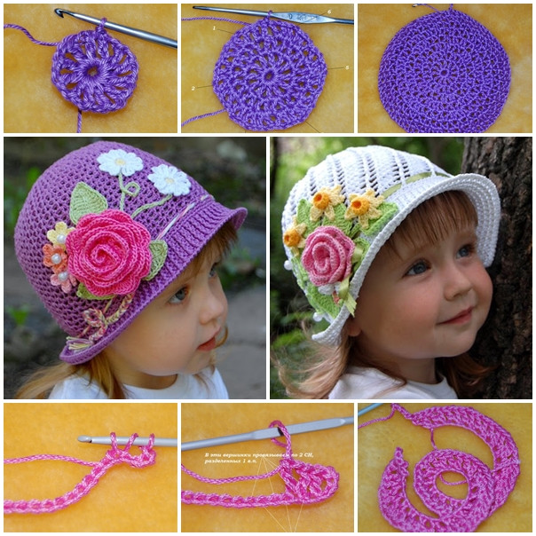 Crochet Girls Hats Beautiful the Perfect Diy Pretty Crochet Panama Hats for Girls the Of New 46 Ideas Crochet Girls Hats