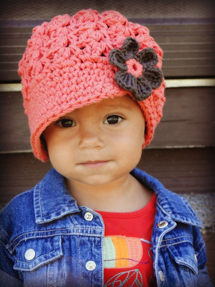 Crochet Girls Hats Inspirational 1000 Ideas About Crochet Newsboy Hat On Pinterest Of New 46 Ideas Crochet Girls Hats