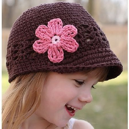 Crochet Girls Hats Inspirational Shell and Daisy Crocheted Hat Beanie Designs Of New 46 Ideas Crochet Girls Hats